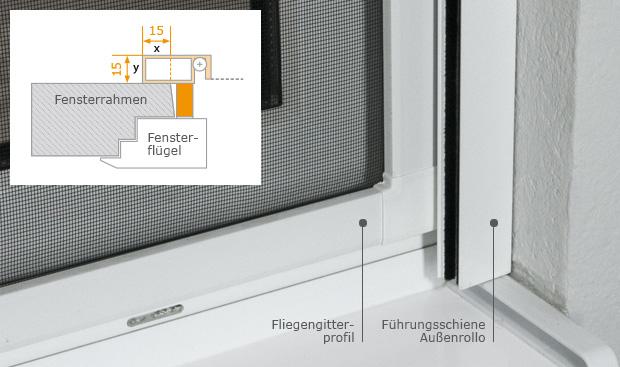 optimaler schutz vor insekten spannrahmen typ 51. Black Bedroom Furniture Sets. Home Design Ideas