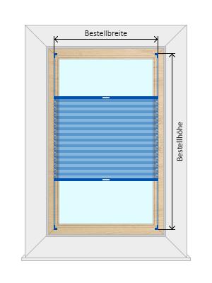 plissee messanleitung richtig messen. Black Bedroom Furniture Sets. Home Design Ideas