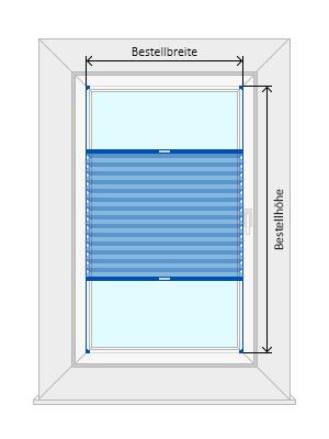 Plissee messanleitung richtig messen for Fenster ausmessen